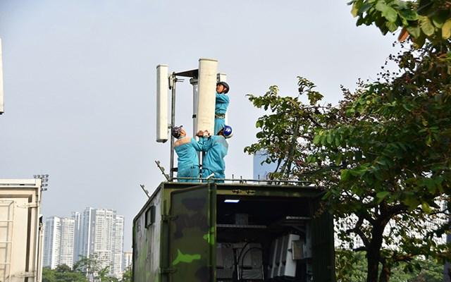 Viettel áp dụng công nghệ hiện đại nhất cho mạng lưới phục vụ trận Việt Nam - UAE - 1