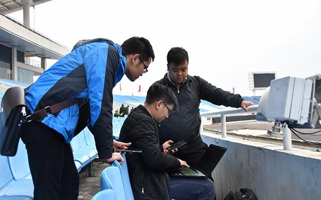 Viettel áp dụng công nghệ hiện đại nhất cho mạng lưới phục vụ trận Việt Nam - UAE