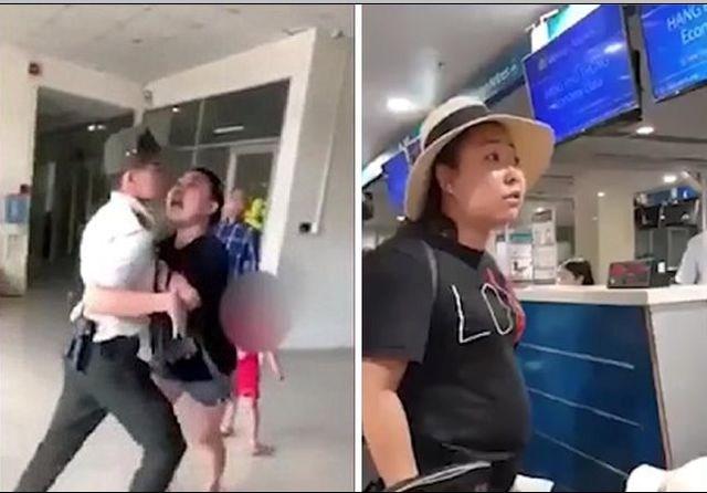 Cấm bay 1 năm nữ công an 'mạt sát' nhân viên sân bay