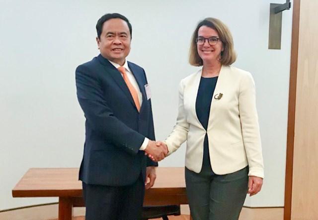 BẢN TIN MẶT TRẬN: Chủ tịch Trần Thanh Mẫn đề xuất nhiều hợp tác thiết thực giữa Australia và Việt Nam