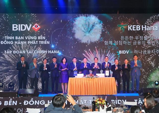 KEB Hana Bank chính thức trở thành cổ đông chiến lược nước ngoài của BIDV - 1