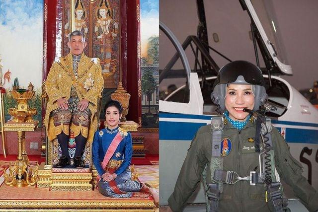 """Trang web Hoàng gia Thái Lan """"xóa sạch"""" lý lịch Hoàng quý phi"""