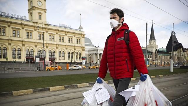 Nga trở thành vùng dịch lớn thứ 5 trên thế giới
