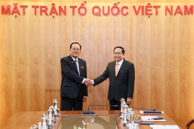 Thúc đẩy quan hệ hữu nghị truyền thống giữa nhân dân hai nước Việt Nam – Triều Tiên