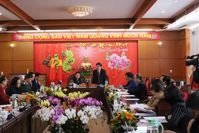 Chủ tịch Quốc hội Nguyễn Thị Kim Ngân làm việc, chúc Tết tại Đắk Lắk