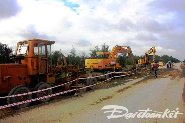 Quảng Nam: Khẩn cấp khắc phục sự cố đường dẫn vào cầu 3.500 tỷ đồng