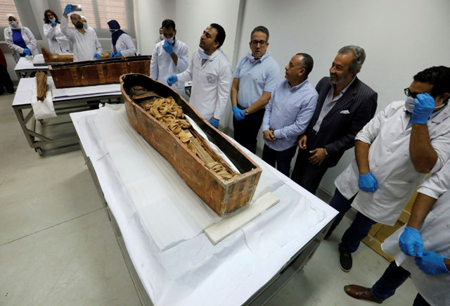 Ai Cập: Xác ướp được bảo tồn hoàn hảo chính thức trưng bày tại Cairo - 5