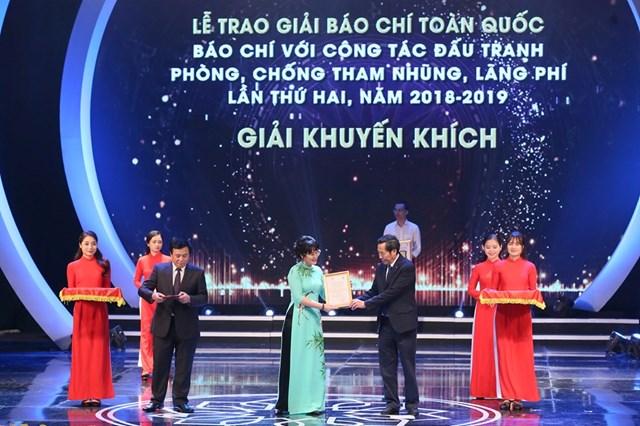 [ẢNH] Lễ trao giải 'Báo chí với công tác đấu tranh phòng, chống tham nhũng, lãng phí' lần thứ hai  - 11