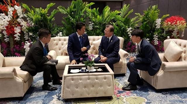 Nhật Bản - Hàn Quốc: Tìm cách giải quyết bất đồng