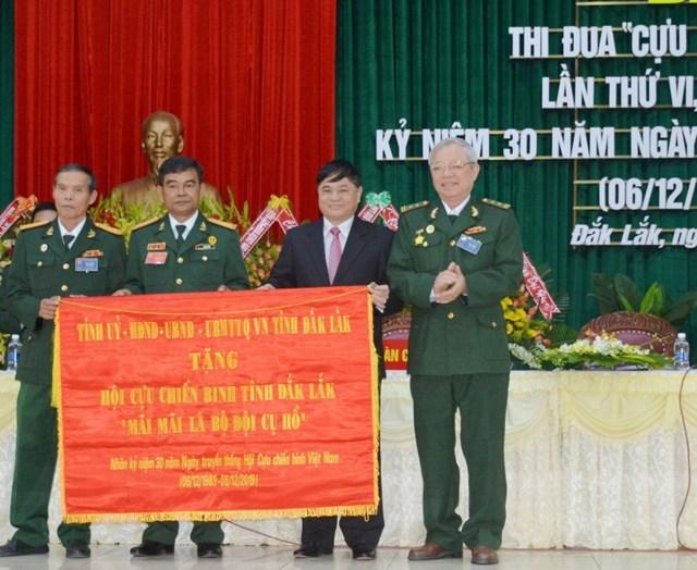 Đắk Lắk: Đại hội thi đua 'Cựu chiến binh gương mẫu' lần thứ VI - 1