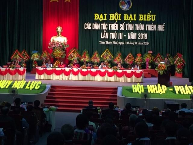 Đại hội đại biểu các dân tộc thiểu số Thừa Thiên - Huế lần thứ III năm 2019