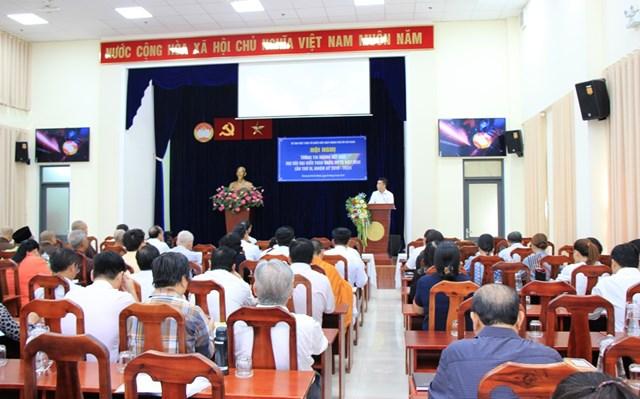 Mặt trận TP Hồ Chí Minh thông tin về kết quả Đại hội MTTQ Việt Nam lần thứ IX - 1