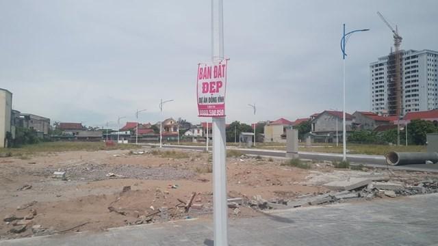 Công ty CP đầu tư phát triển Nghệ An: Vi phạm quy hoạch, rao bán đất trái quy định