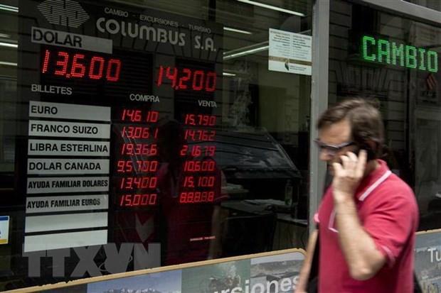 Fitch hạ mức xếp hạng tín nhiệm nợ của nền kinh tế Argentina
