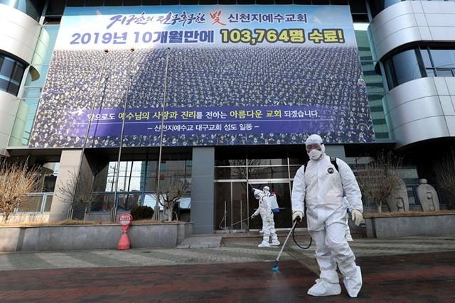 Tân Thiên Địa và thảm họa Covid-19 ở Hàn Quốc