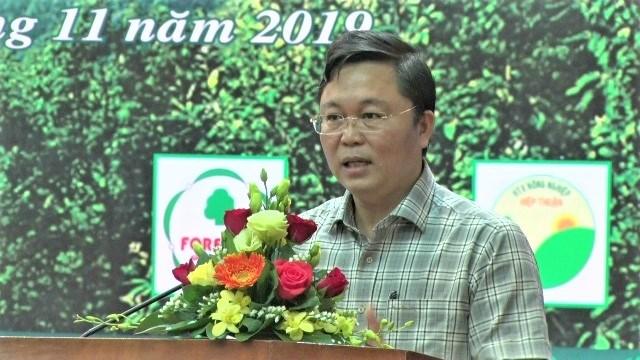 Diễn đàn 'Trồng rừng gỗ lớn liên kết chuỗi tại Quảng Nam' - 1