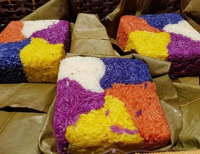 Bánh chưngngũ sắc