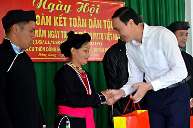 Trưởng ban Dân vận Trung ương dự Ngày hội Đại đoàn kết tại Yên Bái - 1