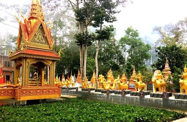 Độc đáo chùa Khmer Nam Bộ - 3