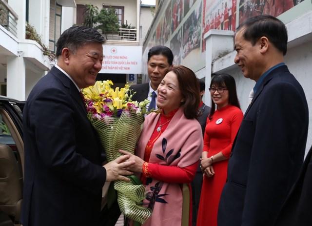 Đoàn Hội Chữ thập đỏ Trung Quốc thăm Việt Nam