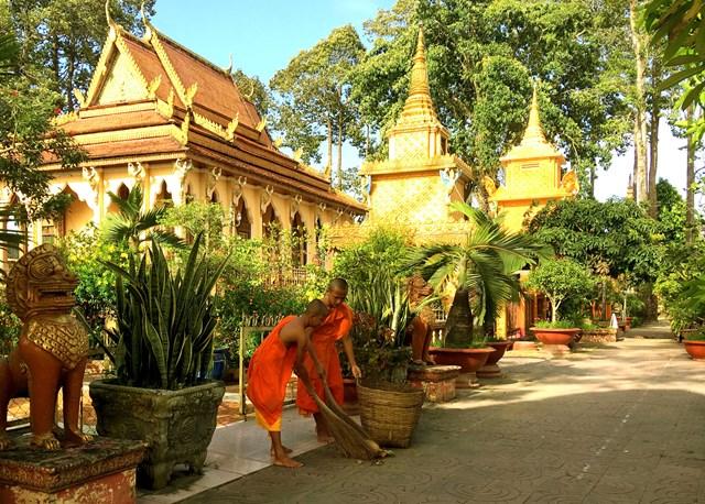Độc đáo chùa Khmer Nam Bộ - 5