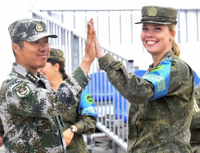 [ẢNH] Những 'bông hồng thép' tại Hội thao Quân sự quốc tế -  International Army Games 2019 - 9