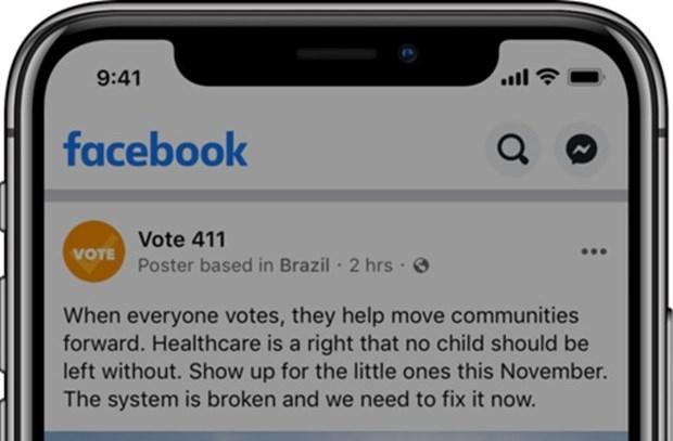 Facebook thêm công cụ chống hoạt động can thiệp bầu cử từ nước ngoài - 1