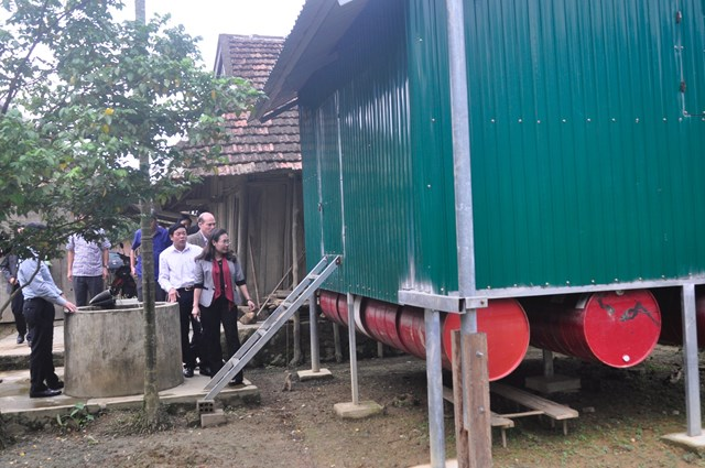 Quảng Bình: Khởi công xây dựng 58 nhà bè vượt lũ ở xã Tân Hóa - 1