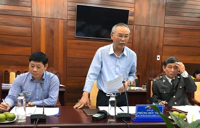 Bộ Nông nghiệp kiểm tra việc khai thác hải sản tại Quảng Ngãi