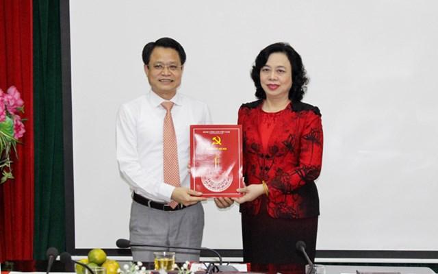 Phó Trưởng ban Thường trực Ban Dân vận Thành ủy Hà Nội giữ chức Chủ tịch Hội Chữ thập đỏ thành phố