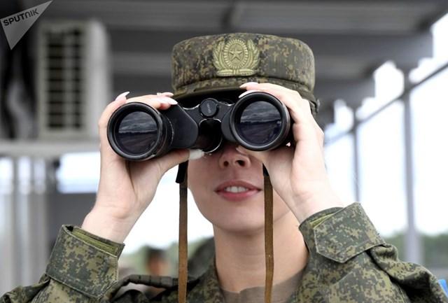 [ẢNH] Những 'bông hồng thép' tại Hội thao Quân sự quốc tế -  International Army Games 2019 - 7