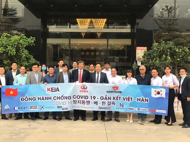 VKBIA và KORCHAM đồng hành chống dịch Covid-19 tại Việt Nam