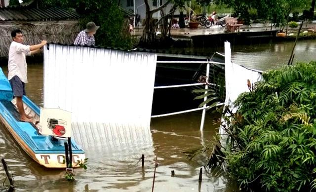 Đồng bằng sông Cửu Long: Giông, lốc xoáy người dân thiệt đơn, thiệt kép - 1