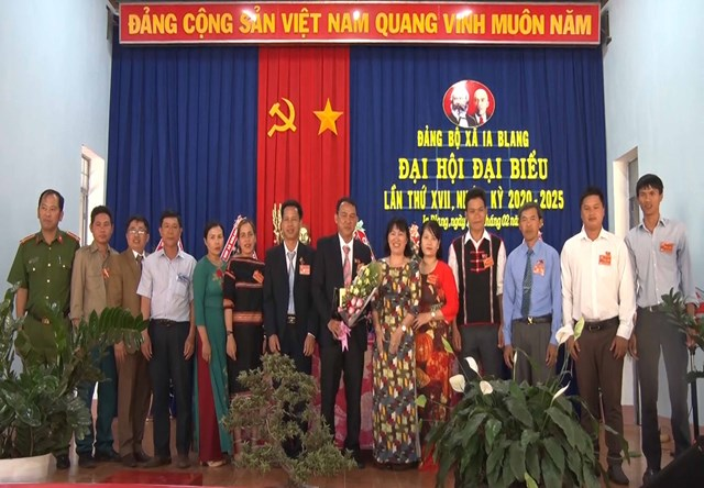 Gia Lai: Đại hội Đảng bộ xã Ia Blang lần thứ XVII