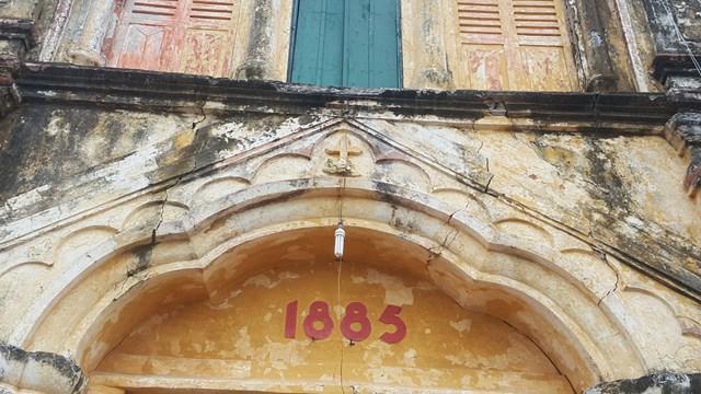 Nam Định: Chuẩn bị hạ giải, xây mới nhà thờ Bùi Chu - 1