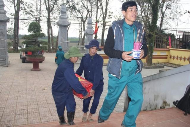 Quảng Trị: Tìm thấy 4 hài cốt liệt sỹ tại vườn nhà người dân