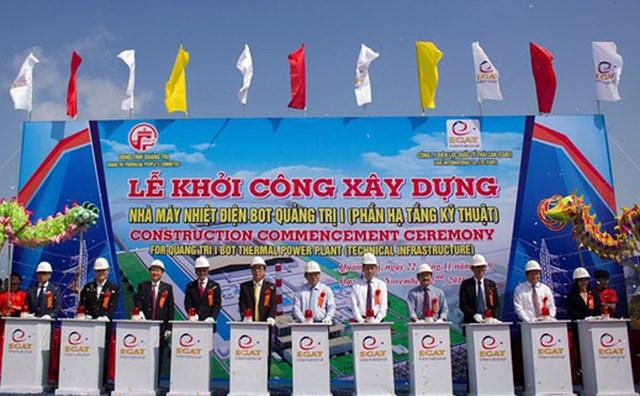 Quảng Trị: Khởi công dự án nhiệt điện có vốn đầu tư hơn 55.000 tỷ đồng
