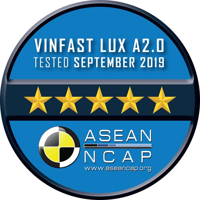 VinFast đạt chứng nhận an toàn ASEAN NCAP 5 sao cho Lux SA2.0, Lux A2.0 và 4 sao cho Fadil - 2
