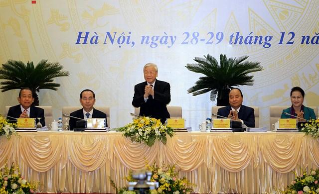 Nghị quyết 01: Đảng tiên phong, chính quyền kiến tạo