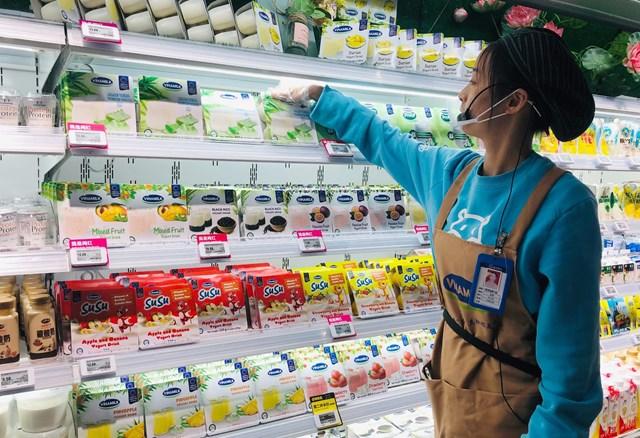 Sữa chua Vinamilk đã có mặt tại siêu thị thông minh Hema của Alibaba tại Trung Quốc - 1
