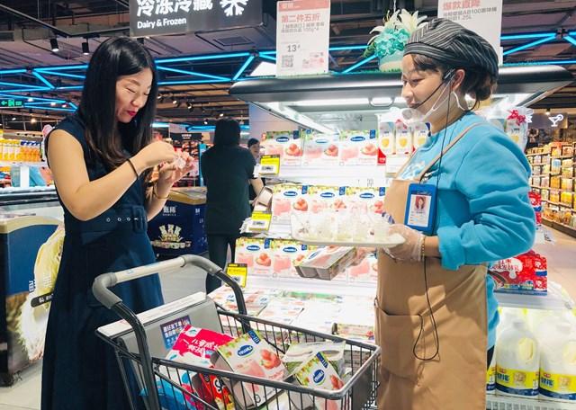 Sữa chua Vinamilk đã có mặt tại siêu thị thông minh Hema của Alibaba tại Trung Quốc - 3