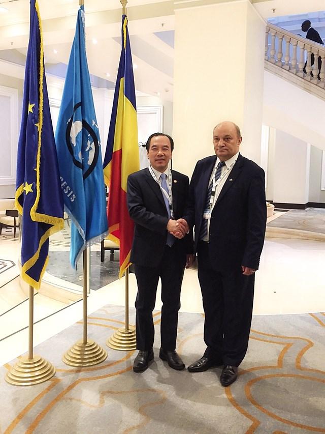 Việt Nam tham dự Hội nghị quốc tế Đại hội đồng AICESIS tại Romania - 1