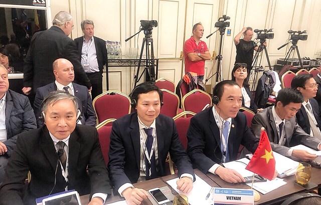 Việt Nam tham dự Hội nghị quốc tế Đại hội đồng AICESIS tại Romania