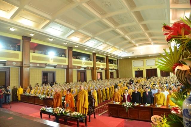 Phó Chủ tịch Ngô Sách Thực dự Đại lễ tưởng niệm 906 năm Ni sư Diệu Nhân viên tịch - 1