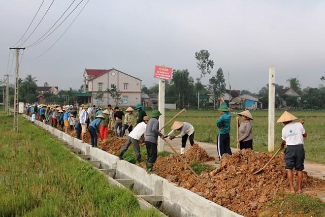 Hà Tĩnh: Sức mạnh nhân dân trong xây dựng nông thôn mới ở Can Lộc
