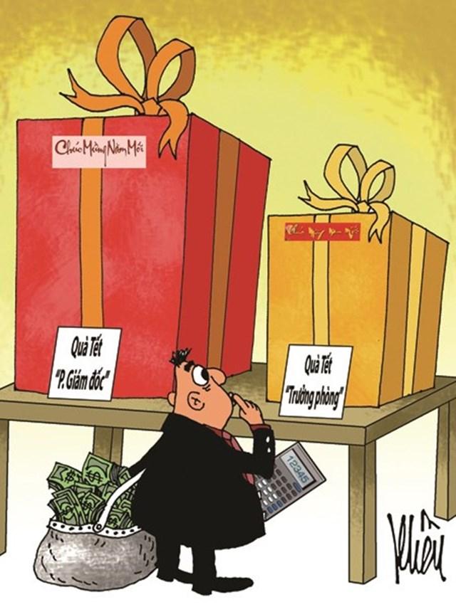 Quà tặng và nhận quà