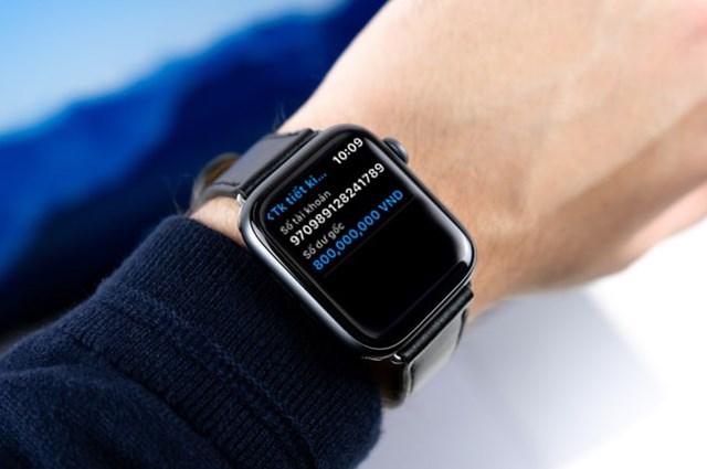 Ứng dụng ngân hàng trên Apple Watch - Bước tiến mới trong cuộc đua phát triển dịch vụ ngân hàng số - 3