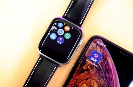 Trải nghiệm BIDV SmartBanking ngay trên đồng hồ Apple Watch