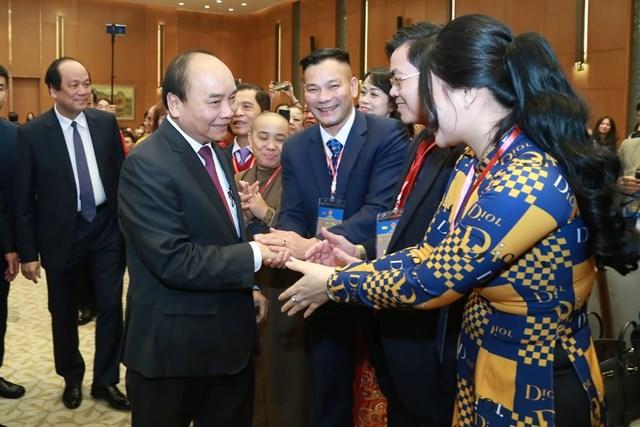 [ẢNH] Thủ tướng gặp mặt kiều bào tham dự chương trình Xuân quê hương 2020 - 3