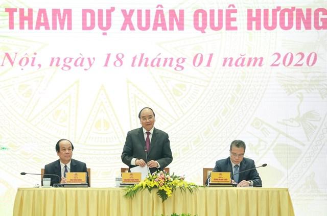 [ẢNH] Thủ tướng gặp mặt kiều bào tham dự chương trình Xuân quê hương 2020 - 4